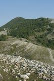 在意大利山的春天 免版税库存照片