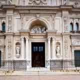 在意大利欧洲米兰宗教的外部老建筑学 库存图片
