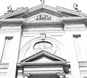 在意大利欧洲米兰宗教的纪念碑老建筑学 库存图片