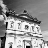 在意大利欧洲米兰宗教a的纪念碑老建筑学 库存照片
