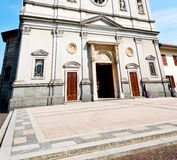 在意大利欧洲米兰宗教a的纪念碑老建筑学 免版税图库摄影