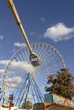 在慕尼黑啤酒节的大弗累斯大转轮,斯图加特 免版税图库摄影