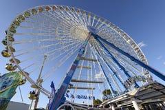 在慕尼黑啤酒节的巨大的弗累斯大转轮,斯图加特 免版税图库摄影