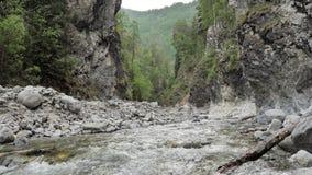 在慢动作录影的一条山河浇灌 股票录像