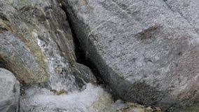 在慢动作录影的一条山河浇灌 影视素材