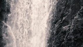 在慢动作的锡达克里克瀑布 影视素材