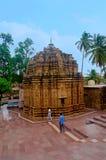 在戈卡克附近的Mahalingeshwara寺庙落,戈卡克, Belagavi,卡纳塔克邦 库存图片