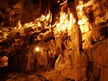在戈尔斯基科塔尔的洞Vrelo 库存照片