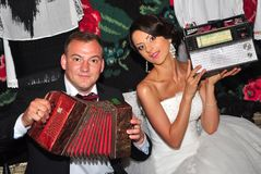 在我的婚礼的photosession 免版税库存图片