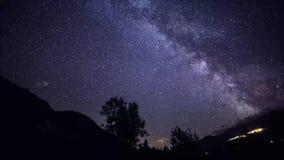 在我的房子上的银河 影视素材