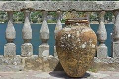 在我们的岩石的夫人的花瓶 免版税库存图片