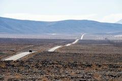 在我们的途中向死亡谷, 免版税图库摄影