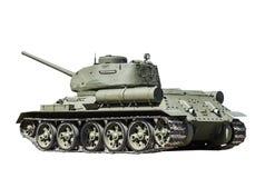 在战争的传奇苏联坦克在第二次世界大战中 免版税库存照片