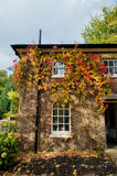 在房子的秋天 库存图片