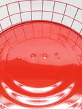 在手工制造灯的微笑 免版税库存照片