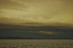 在扎达尔的风暴 免版税库存照片