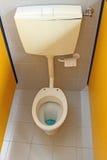 在托儿所的洗手间的小洗手间 免版税库存图片