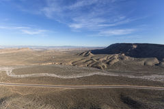 在拉斯维加斯和红色岩石之间的内华达高速公路159 库存图片