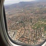 在拉斯维加斯的飞行 免版税库存照片