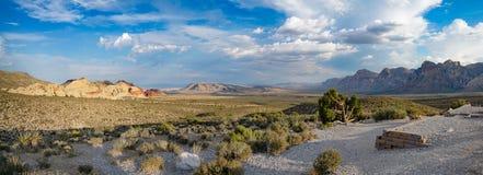 在拉斯维加斯, NV附近的红色岩石峡谷 免版税库存照片