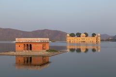 在拉贾斯坦国家的Jal玛哈尔的印度 库存照片