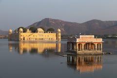 在拉贾斯坦国家的Jal玛哈尔的印度 库存图片