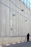 在拿撒勒附近的墙壁在以色列 免版税库存照片