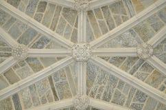 在持有人霍尔-普林斯顿大学入口的天花板  免版税库存图片