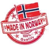 在挪威制造的不加考虑表赞同的人 免版税库存照片