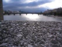 在捷克共和国的桥梁 免版税库存图片