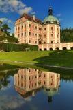 在捷克共和国的Becov城堡 免版税库存图片
