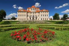 在捷克共和国的Liblice城堡 免版税库存图片