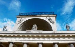 在捷克共和国3的阿波罗寺庙 库存照片