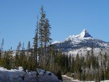 在接合的Mt的雪 华盛顿 免版税库存图片
