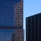 在摩天大楼的反射 库存照片