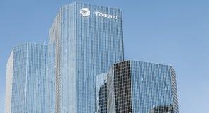 在摩天大楼的特写镜头 免版税库存照片