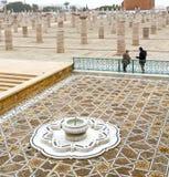 在摩洛哥非洲喷泉的chellah 免版税图库摄影