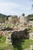 在撒丁岛海岛上的Nuraghe 库存图片