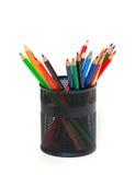 在支持的铅笔 库存图片