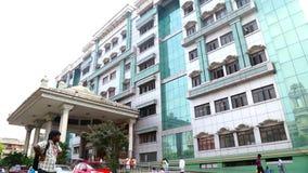 在政府医院的外部大厦金奈的,印度 股票视频
