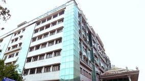 在政府医院的外部射击视图金奈的,印度 股票录像