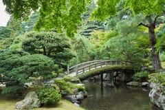 在故宫的迷人的弓桥梁 免版税库存照片