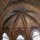 在教会圣塔玛丽亚gloriosa dei frari的圆顶 免版税库存图片