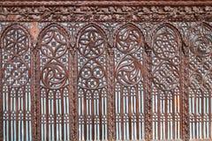 在教会圣塔玛丽亚gloriosa dei frari的墙壁 免版税图库摄影