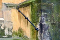 在教会的栏杆 免版税库存照片