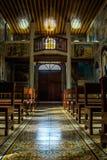 在教堂里面 免版税库存图片