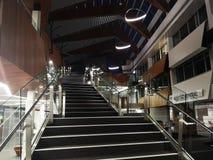 在教室大厦的长的台阶 免版税图库摄影