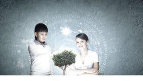 在教育的创新技术 免版税库存图片