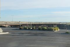 在教规的桥梁在爱达荷 库存照片
