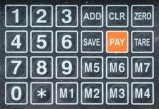 在数字式等级的数字钥匙 免版税库存照片